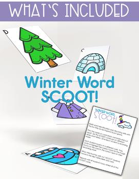 Winter Activities - Word Work Games