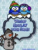 Winter Word Work With Short a