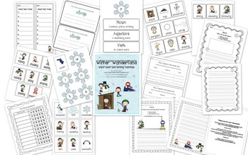 Winter Word Work and Writing