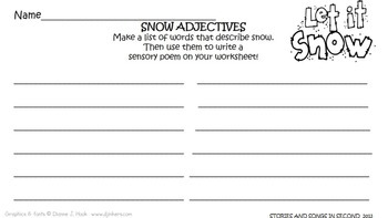 Winter Word Work and Writing Activities for the Primary Grades
