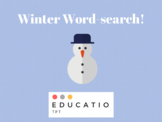 Winter Word-search