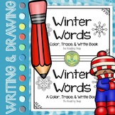 Winter Words Book - Color, Trace, & Write