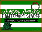 Winter Words - Dictionary Search (Especially for English L