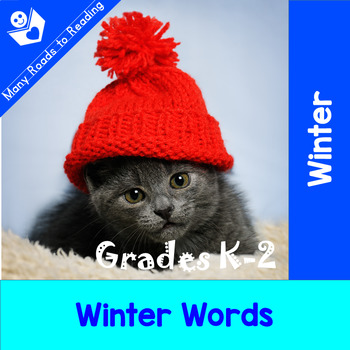 Winter Words: Grades K-2