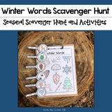 Winter Words Scavenger Hunt