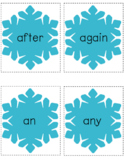 Winter Words - Sight Word Card Game - Dolch Pre-Primer Set