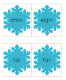 Winter Words - Sight Word Card Game - Dolch 3rd Grade Set