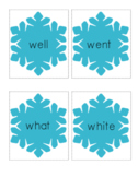 Winter Words - Sight Word Card Game - Dolch Primer Set