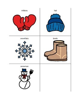 Winter Words Spelling Dictionary