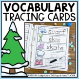 Winter Words Tracing Cards