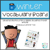 Winter Words Vocabulary Board