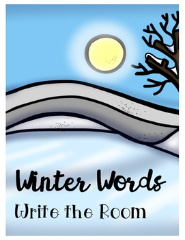Winter Words: Write the Room