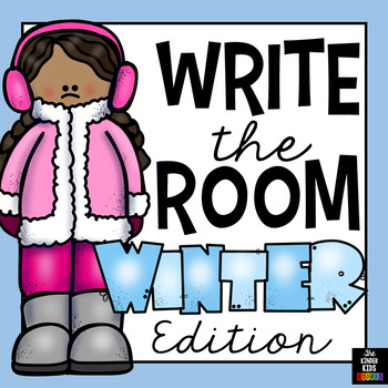 Winter Words - Write the Room
