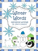 Winter Words (sentence writing)