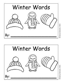 Winter Words (sentence writing)