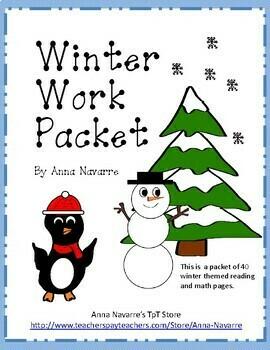 Winter Work Packet