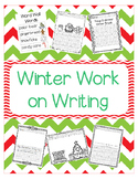 Winter Work on Writing