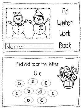 Winter Workbook