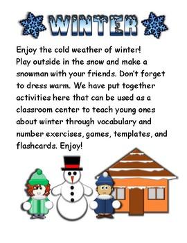 Winter Activity Set