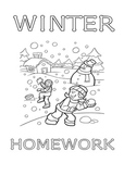 Winter Worksheet Packet