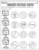 Winter Worksheet Sampler: Beginning Sounds for Preschool a