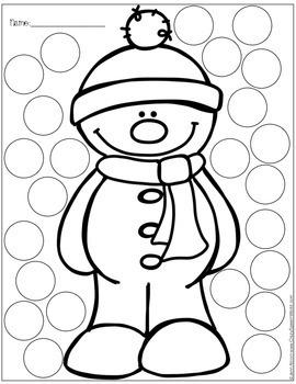 Winter Worksheets FREEBIE!