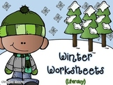 Winter Printables {Literacy}