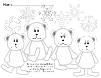 Winter Worksheets * Word Search * ABC order