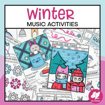 Winter Music Worksheets