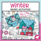 Winter Music Worksheets