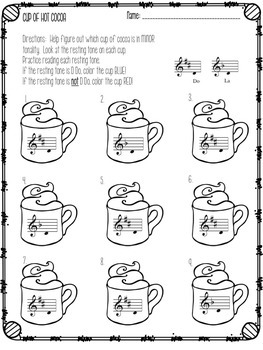 Winter Worksheets for the Music Learning Theory Inspired Classroom