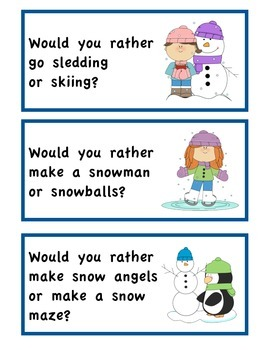 Winter: Would You Rather