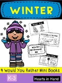 Winter Would You Rather Mini Readers Primary