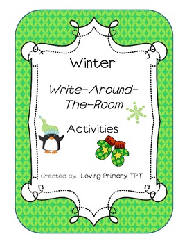 Winter Write-Around-The-Room Activity