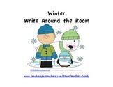 Winter Write Around the Room