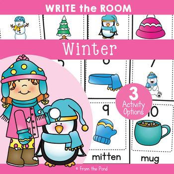 Winter - Write Cut Paste the Room