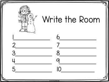 Write the Room Winter