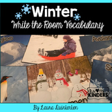 Winter Write The Room Vocabulary