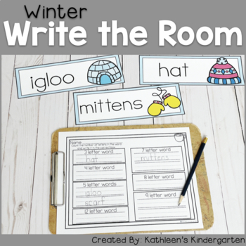Winter Write the Room