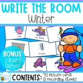 Write the Room with Winter Words
