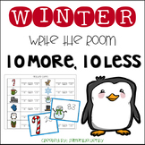 Winter Write the Room 10 More, Ten Less