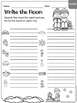 Winter - Write the Room & Writing Prompts {Print on Cardst