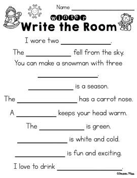 Winter Write the Room