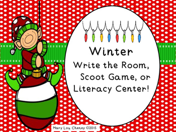 Winter Write the Room Activity