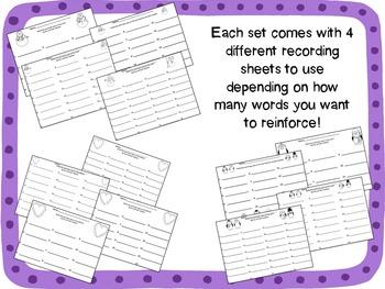 Winter Write-the-Room Bundle Set #2 {3 Editable Sets}