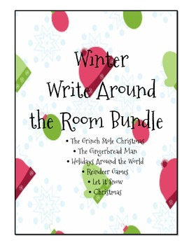 Winter Write the Room Mini Bundle
