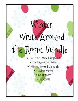 Winter Write the Room Mini Bundle