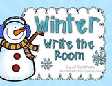 Winter Write the Room {8 words}