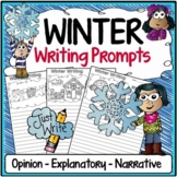 Winter Writing Prompts {Narrative Writing, Informative & Opinion Writing}