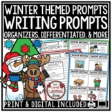 Winter Writing Prompts 2nd Grade, 3rd Grade, 4th Grade- Winter Activities